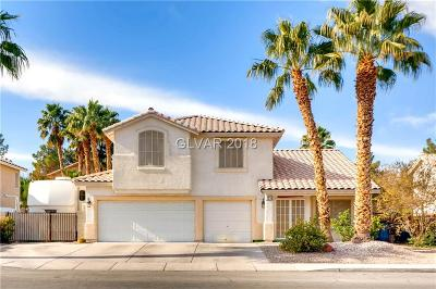 Las Vegas Single Family Home For Sale: 7355 Amigo Street