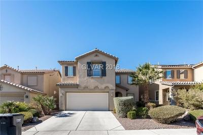 North Las Vegas Single Family Home For Sale: 5621 Champagne Flower Street