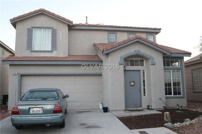 North Las Vegas Single Family Home For Sale: 5401 Peony Court