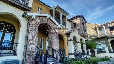 Henderson Condo/Townhouse For Sale: 32 Via Verso Lago