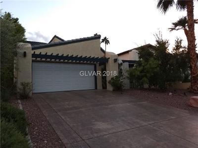 Las Vegas Single Family Home For Sale: 3184 Bel Air Drive