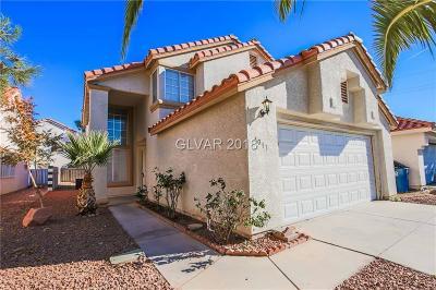 Las Vegas Single Family Home For Sale: 4013 Broadriver Drive