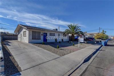 Las Vegas Single Family Home For Sale: 4209 San Bernardino Avenue