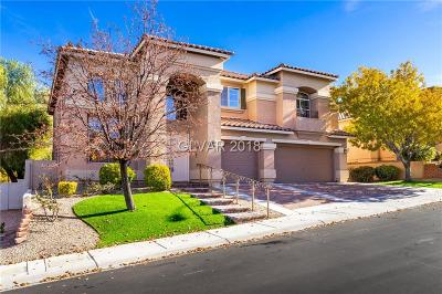 Henderson NV Single Family Home For Sale: $625,000