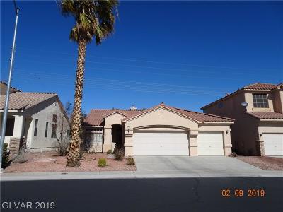 Las Vegas Single Family Home For Sale: 1900 Tremolite Avenue