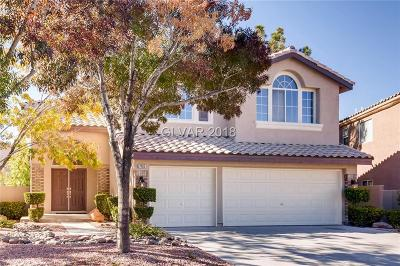 Las Vegas Single Family Home For Sale: 2405 Juniper Canyon Court