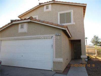 Las Vegas Single Family Home For Sale: 4137 Talavera Court