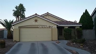 Las Vegas Single Family Home For Sale: 1412 Claim Jumper Drive