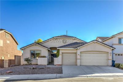 Las Vegas Single Family Home Under Contract - No Show: 9645 Cherry Canyon Avenue