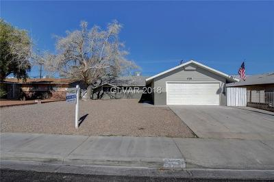 Las Vegas Single Family Home For Sale: 4300 Bonanza Road