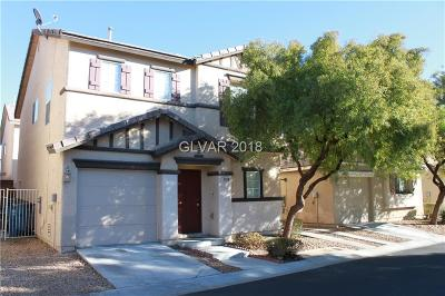 Las Vegas Single Family Home For Sale: 1198 Plum Canyon Street