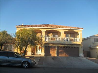 Las Vegas Single Family Home For Sale: 6648 Chimes Tower Avenue