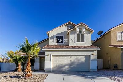 Las Vegas NV Single Family Home Under Contract - No Show: $314,000