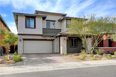 Las Vegas Single Family Home For Sale: 5885 Skyfall Court