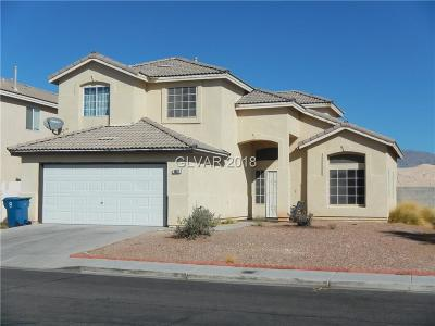 North Las Vegas Single Family Home Under Contract - No Show: 1852 Snowfire Avenue