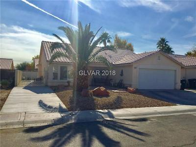 North Las Vegas Single Family Home For Sale: 519 Rancho Del Sol Way