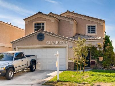 North Las Vegas Single Family Home For Sale: 3321 Gold Run Street