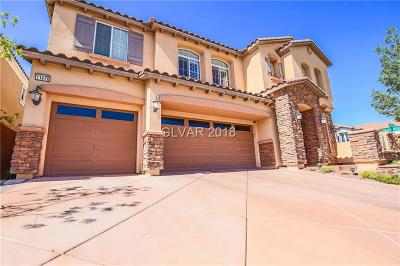 Las Vegas Single Family Home Under Contract - No Show: 11676 I Intervale Road