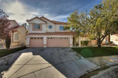 North Las Vegas Single Family Home Under Contract - No Show: 7505 Sand Pebble Lane