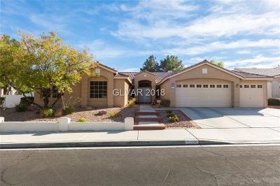 Las Vegas Single Family Home For Sale: 7809 Waterfalls Avenue