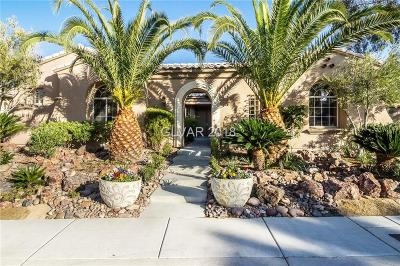 Las Vegas Single Family Home For Sale: 4138 Bacio Bello Lane