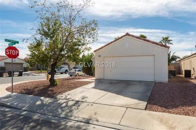 Henderson Single Family Home For Sale: 649 Saloon Court