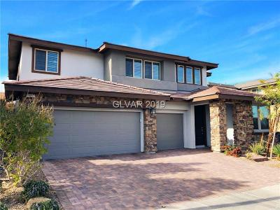 LAS VEGAS Single Family Home For Sale: 5857 Glory Heights Drive