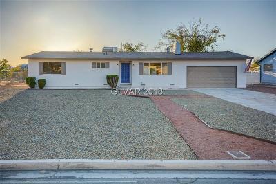 Las Vegas Single Family Home For Sale: 933 Apache Lane