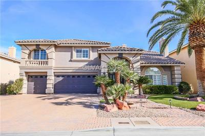 Las Vegas Single Family Home For Sale: 11072 Whistling Straits Street