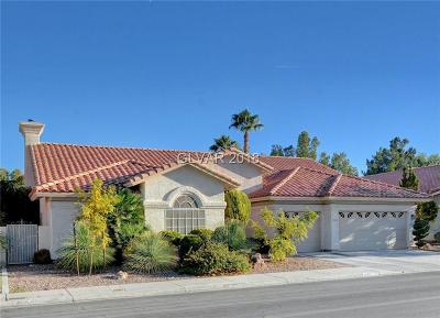 Las Vegas Single Family Home For Sale: 1508 Castle Crest Drive