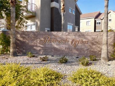 Henderson Condo/Townhouse For Sale: 318 Vista Heights Lane