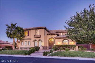 Las Vegas Single Family Home For Sale: 7504 Via Rimini Street