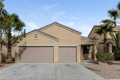 Las Vegas Single Family Home For Sale: 5960 Tamara Costa Court