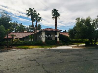 Las Vegas Single Family Home For Sale: 3392 Westwind Road