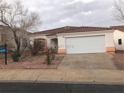 Clark County Single Family Home For Sale: 736 Camino La Paz