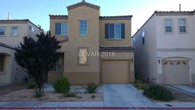 Las Vegas Single Family Home For Sale: 1291 Willow Village Avenue