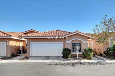 Las Vegas Condo/Townhouse For Sale: 9128 Hedge Rock Street