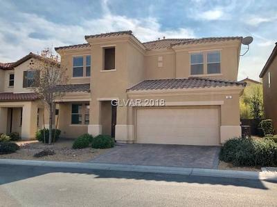 Las Vegas, North Las Vegas Rental For Rent: 49 Crooked Putter Drive