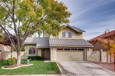 Las Vegas Single Family Home For Sale: 3624 Soothing Surf Drive