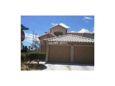 Las Vegas NV Condo/Townhouse For Sale: $143,000