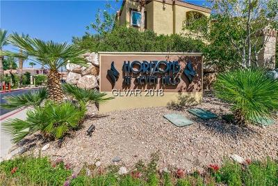Henderson Condo/Townhouse For Sale: 950 Seven Hills Drive #2021