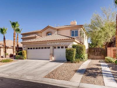 Las Vegas Single Family Home For Sale: 9557 Verneda Court