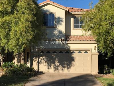 Las Vegas NV Single Family Home For Sale: $435,000