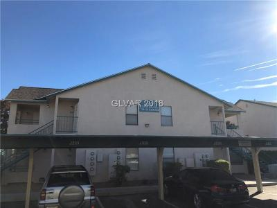 Las Vegas Condo/Townhouse For Sale: 5261 Lindell Road #203