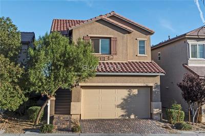 LAS VEGAS Single Family Home For Sale: 8964 Marble Light Avenue
