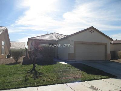 North Las Vegas Single Family Home For Sale: 3605 Hammer Lane