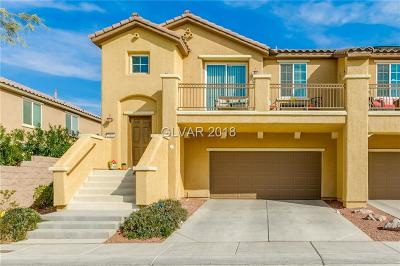 North Las Vegas Condo/Townhouse For Sale: 3898 Blake Canyon Drive