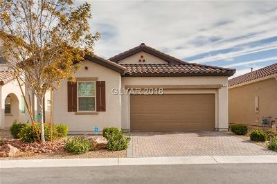 Las Vegas Single Family Home For Sale: 820 Gallery Course Drive