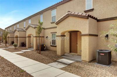Las Vegas Condo/Townhouse For Sale: 4594 Townwall Street