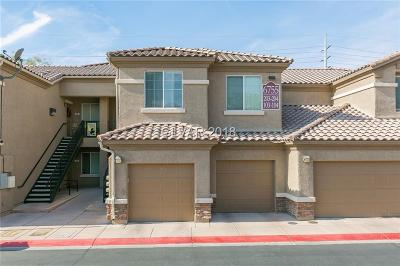 North Las Vegas Condo/Townhouse For Sale: 6755 Abruzzi Drive #103